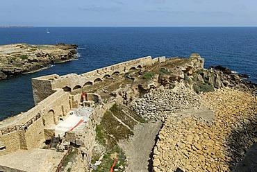 Castello Aragonese, Le Castella, Calabria, Italy, Europe