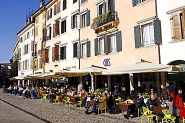 Piazza Motteotti, Udine, Friuli-Venezia Giulia, Italy, Europe