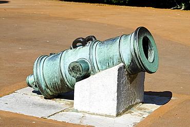 Historic mortar, Gibraltar, Great Britain, Europe
