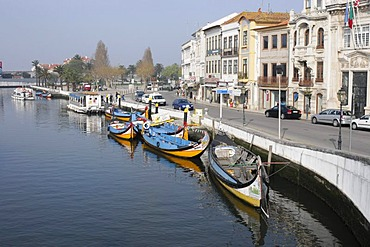 Boats, Aveiro, North Portugal, Europe