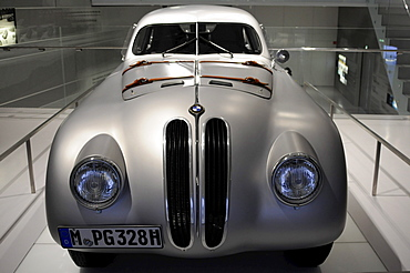 BMW 328 Mille Miglia Coupe Touring, BMW Museum, Munich, Bavaria, Germany, Europe