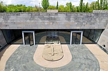 Underground Armenian Genocide Museum and Memorial Tsitsernakaberd, Yerevan, Jerewan, Armenia, Asia