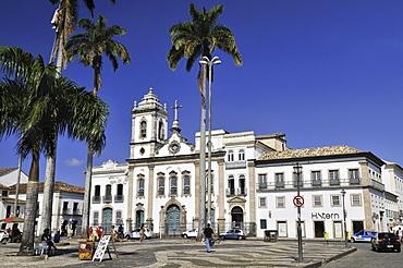 Church Igreja da Ordem Terceira de Sao Domingos at the Torreio de Jesus square, Salvador, Bahia, UNESCO World Heritage Site, Brazil, South America