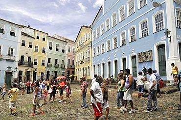 Largo do Pelourinho square and Museum Fundacao Casa de Jorge Amado, Salvador, Bahia, UNESCO World Heritage Site, Brazil, South America