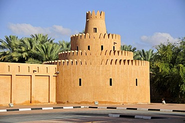Tower of the Al Ain Palace Museum, Al Ain, Abu Dhabi, United Arab Emirates, Arabia, the Orient, Middle East