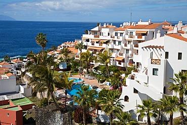 Hotel complex, Puerto de Santiago, Tenerife, Spain