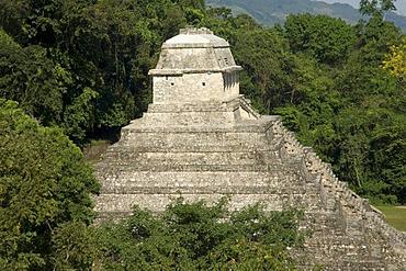 Palenque, UNESCO World Heritage Site, Templo del Conde, Temple of the Count, Yucatan, Mexico