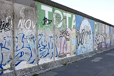 East Side Gallery, remains of the Berlin Wall, Berlin, Germany