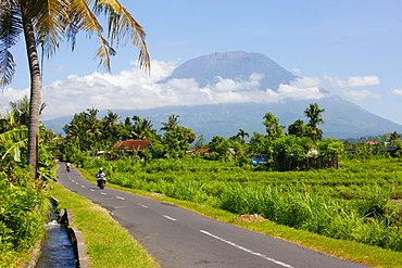 Volcano, Mount Agung, 2567m, cloud forest, Bali, Republic of Indonesia, Southeast Asia