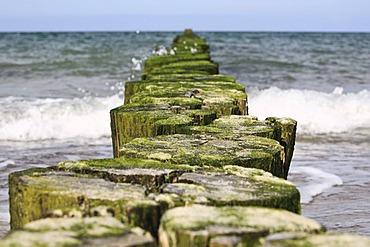Groyne, Heiligendamm seaside resort, Baltic Sea, Mecklenburg-Vorpommern, Germany, Europe
