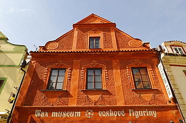 Waxworks Museum, historic old town, Cesky Krumlov, UNESCO World Heritage Site, Bohemia, Czech Republic, Europe