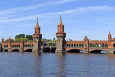 Oberbaumbruecke Bridge in Berlin, Germany, Europe