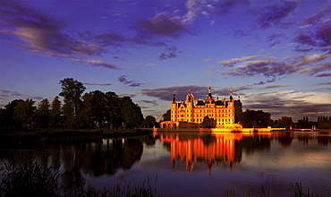 Schwerin Castle, National Garden Show, Schwerin, Mecklenburg-Western Pomerania, Germany, Europe