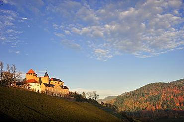 Eberstein Castle, Gernsbach Obertsrot, Black Forest, Baden-Wuerttemberg, Germany, Europe