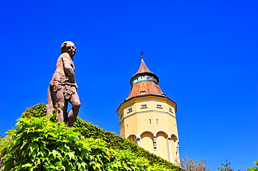 Water tower, Rastatt, Black Forest, Baden-Wuerttemberg, Germany, Europe