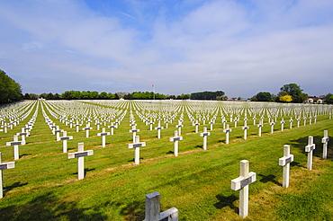 La Targette, British first World War cemetery, Pas-de-Calais, Somme valley, France, Europe