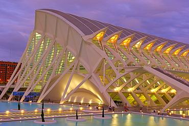 Principe Felipe museum of sciences, City of Arts and Sciences, Comunidad Valenciana, Valencia, Spain, Europe