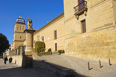 Hospital de Santiago, 16th century, ubeda, Jaen province, Andalusia, Spain, Europe