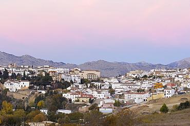 View of Ronda, Malaga province, Andalusia, Spain, Europe