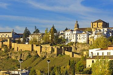 View of Ronda, Malaga province, Andalusia, Europe