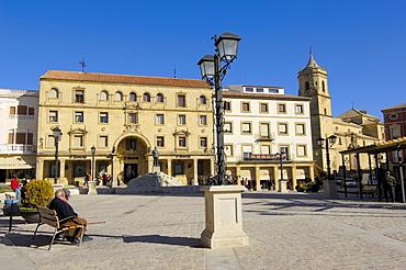 Plaza de Andalucia, ubeda, Jaen province, Andalusia, Spain, Europe