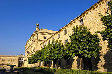 Palacio de las Cadenas, 16th century, by architect Andres de Vandelvira, now Town Hall, ubeda, Jaen province, Spain, Europe