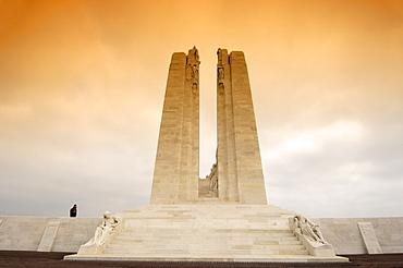 Vimy, Canadian First World War Memorial, Pas-de-Calais, Somme valley, France, Europe