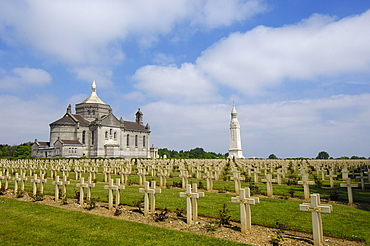 First World War Cemetery and Memorial at Notre Dame de Lorette, Pas-de-Calais, Somme valley, France, Europe