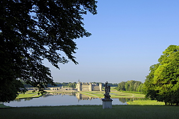 Chantilly Castle, Chateau de Chantilly, Chantilly, Picardy region, France, Europe