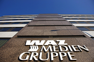 Publishing house of the WAZ media group, Essen, North Rhine-Westphalia, Germany, Europe