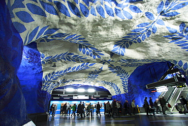 Metro central station, Stockholm, Sweden, Scandinavia, Europe