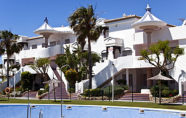 Apartment complex in Andalusia, Spain, Europe