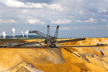 Garzweiler 2, brown coal surface mining, North Rhine-Westphalia, Germany, Europe