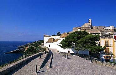 Dalt Vila, historic centre, Ibiza Town, Ibiza, Balearic Islands, Spain