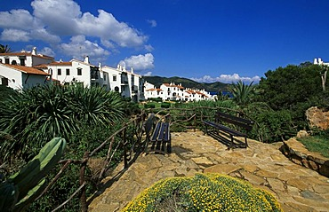 Holiday flats in Platges de Fornells, Minorca, Balearic Islands, Spain