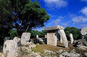 Dolmen, Talati de Dalt, Minorca, Balearic Islands, Spain