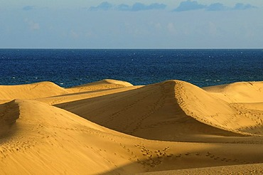 Sand dunes of Maspalomas, Grand Canary, Canary Islands, Spain