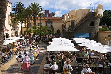 Traditional costume festival in Las Palmas, Grand Canary, Canary Islands, Spain