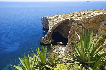 Blue Grotto in Malta, Europe