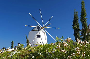 Windmill in Castro Marim, Algarve, Portugal, Europe