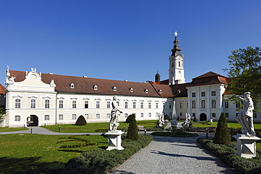 Altenburg Benedictine Monastery, Waldviertel area, Lower Austria, Austria, Europe