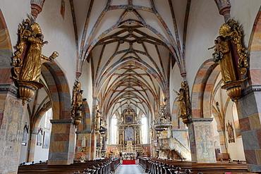 Stiftskirche Christus Salvator und Allerheiligen, Christ Salvator and All Saints collegiate church, Stift Millstatt convent, Carinthia, Austria, Europe