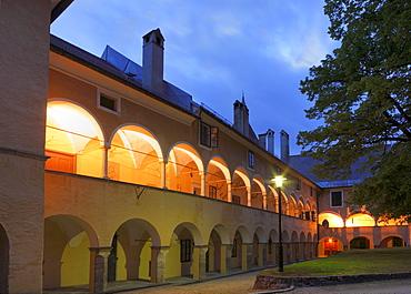 Stiftshof, Millstatt Monastery, Carinthia, Austria, Europe
