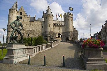 Steen Castle, Steenplein, Antwerp, Belgium