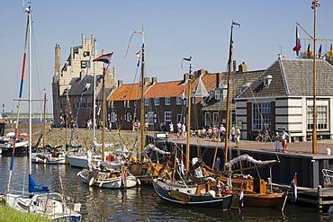 Veere port, Zeeland, Netherlands