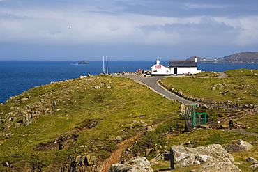 First and last refreshment house in England, Land's End, Penn an Wlas, Cornwall, United Kingdom, Europe
