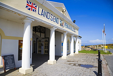 Tourist centre, Land's End, Penn an Wlas, Cornwall, England, United Kingdom, Europe