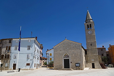 Church of ss. Cosmas and Damian, Crkva Sv Kuzme i Damjana, Fazana, Istria, Croatia, Europe