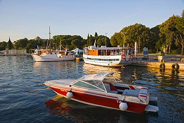 Harbour, Riva, Pula, Istria, Croatia, Europe