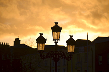 Evening mood, Dublin, Baile atha Cliath, County Dublin, Leinster, Ireland, Europe